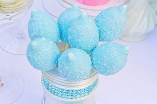 Rain cake pops