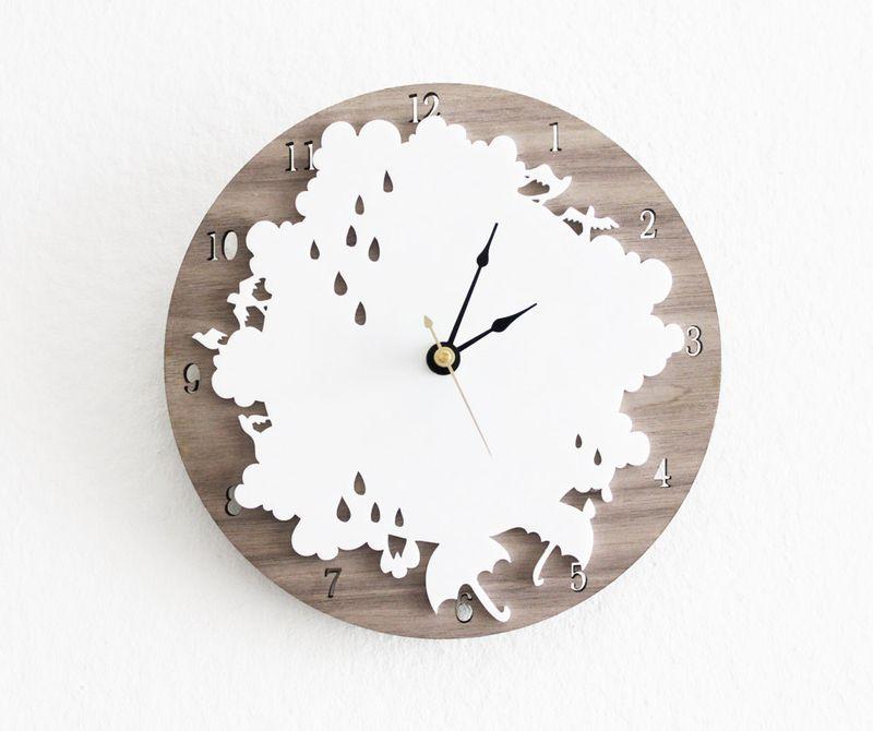 Rain clock